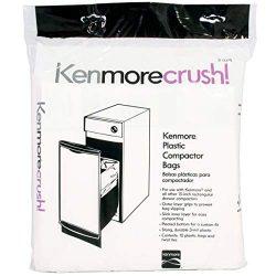 Kenmore 13370 Plastic Trash Compactor Bags 10 Count