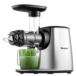 Juicer Machine, Willsence Slow Masticating Juice Extractor with 5 Mode Adjustment, Clod Press Ju ...