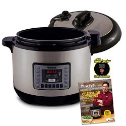 NUWAVE NUTRI-POT 13-Quart DIGITAL PRESSURE COOKER with Sure-Lock Safety System; Dishwasher-Safe  ...