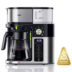 Braun MultiServe Coffee Machine 7 Programmable Brew Sizes / 3 Strengths + Iced Coffee & Hot  ...