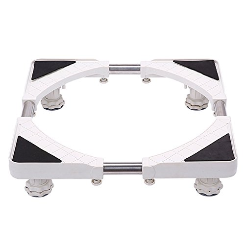 Multi-functional Mobile Basen 4 Strong Feet Size Adjustable for Washing Machine and Refrigerator