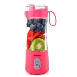 Portable Blender, Smoothie Blenders, Personal Size Blender USB Rechargeable Smoothies and Shakes ...