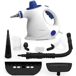 Comforday Steam Cleaner- Multi Purpose Cleaners Carpet High Pressure Chemical Free Steamer with  ...