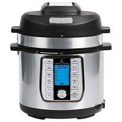 Emeril Lagasse Pressure Cooker, Air Fryer, Steamer and Electric Multi-Cooker. Air Fry Basket and ...