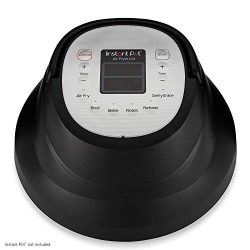 Instant Pot Lid with Roast Bake, Broil, Reheat & Dehydrate Air Fryer (Renewed)