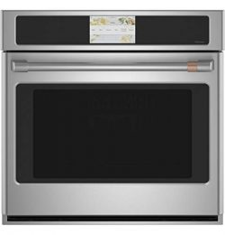 GE CAFE CTS70DP2NS1 30″ Built-In Convection Single Wall Oven with 5 cu. ft. Capacity True  ...