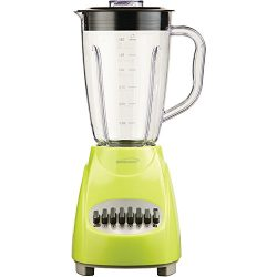 Brentwood  JB-220G  12-Speed  +  Pulse  Blender,  Lime  Green
