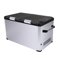 CIGREEN 63.4 Quart (60 Liter) Portable Refrigerator, Compressor Electric Powered Portable Cooler ...