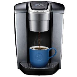 Keurig K-Elite Single-Serve K-Cup Pod Maker with Strength & Temperature Control, Iced Coffee ...