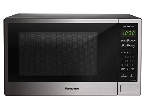 Panasonic NN-SB646S Countertop Microwave Oven – With Smart Keypads and Controls – St ...