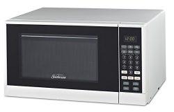 Sunbeam SGCMSR09WE-09 0.9 cu. Ft. Microwave Oven, White
