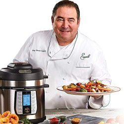 Emeril Lagasse 8-Quart Pressure Air Fryer Duet (9 accessories pack) Nonstick inner pot