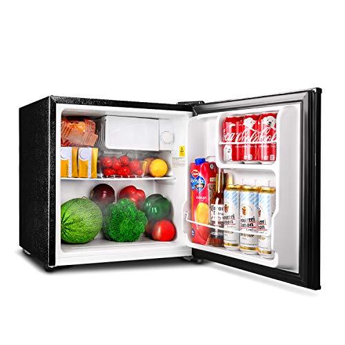 TACKLIFE Mini Fridge with Freezer Energy Star Single Door, 1.6 Cubic Feet Compact Refrigerator,  ...