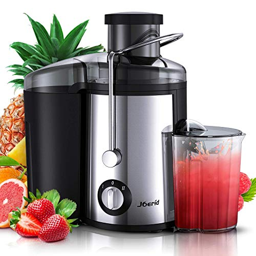 Juicer Machines, [2020 Upgrade] Joerid Centrifugal Juicer, Juice Extractor with Spout Adjustable ...
