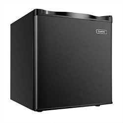 Euhomy Mini Freezer Countertop, Energy Star 1.1 Cubic Feet,Compact Single Door Upright Freezer w ...