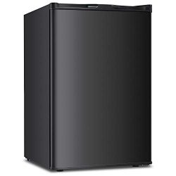 3.0 CU.FT Upright Freezer Convertible Deep Capacity Quick Freeze Function Refrigerator Low Noise ...
