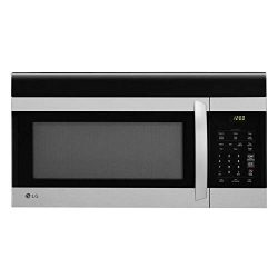 LG LMV1760ST 1.7 cu. ft. Over-the-Range Microwave Oven with EasyClean (Renewed)