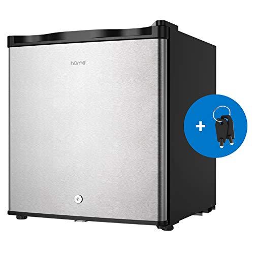 hOmelabs Upright Freezer – 1.1 Cubic Feet Reversible Single Door Compact Vertical Freezer  ...