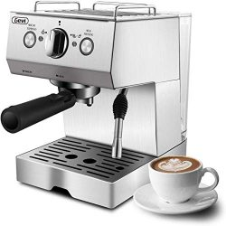 Espresso Machine, Coffee Machine with 15 bar Pump Powerful Pressure Coffee Brewer, Coffee maker  ...