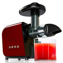 [Upgraded] KOIOS Juicing Machine, 2020 Masticating Slow Juicer Extractor, Cold Press Juicer with ...