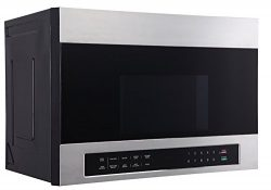 Avanti MOTR13D3S 24″ Over The Range Microwave, Stainless Steel