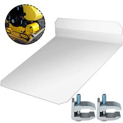 Bestauto Plate Compactor Pad Plate Compactor Tamper Pad Plate Tamper Pad Tamper Plate Mat for Wa ...