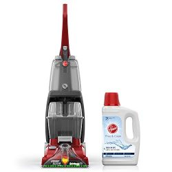 Hoover Power Scrub Deluxe Carpet Washer with Free & Clean Carpet Cleaning Solution (50 oz),  ...
