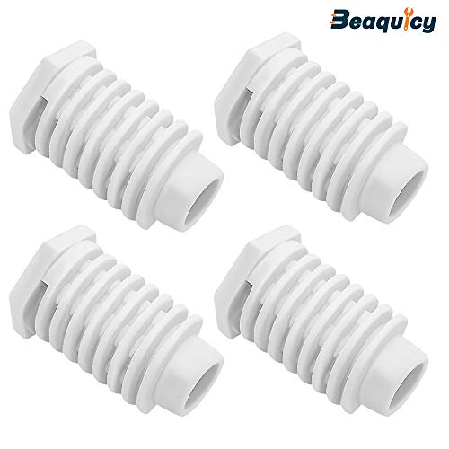 49621 AP4295805 Dryer Leveling Leg Foot Feet by Beaquicy – Replacement For Whirlpool Kenmo ...