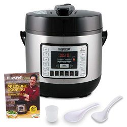 NUWAVE NUTRIPOT 6-Quart DIGITAL PRESSURE COOKER with Sure-Lock Safety System; Dishwasher-Safe No ...