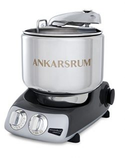 Ankarsrum Original 6230 Black Chrome and Stainless Steel 7 Liter Stand Mixer