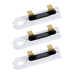 3 Pack 3392519 Dryer Thermal Fuse Replacement for Whirlpool & Kenmore Dryers by Appliancemat ...