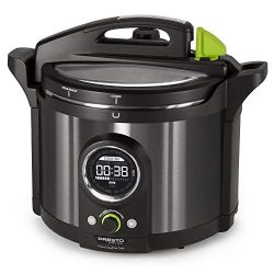 National Presto 02143 Presto Precise 10-Quart Multi-use Programmable Plus Electric Pressure Cook ...