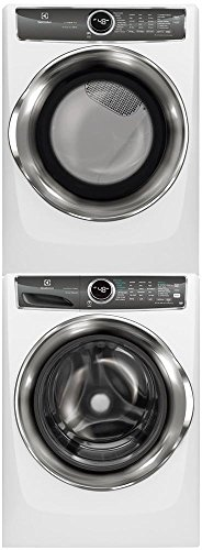 Electrolux White Front Load Laundry Pair with EFLS627UIW 27″ Washer, EFMG627UIW 27″  ...