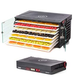 SAHARA Folding Food Dehydrator, Beef Jerky, Fruit Leather, Vegetable Dryer by Brod & Taylor  ...