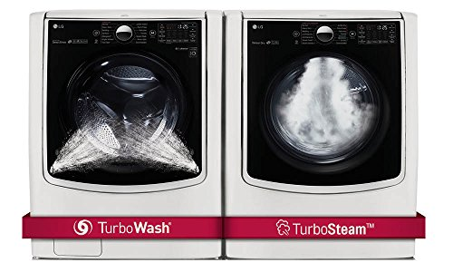 LG POWER PAIR-Mega Capacity TurboWash Series 29″ Front Load Laundry System with GAS DRYER  ...
